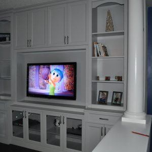 Northern Gray wall unit